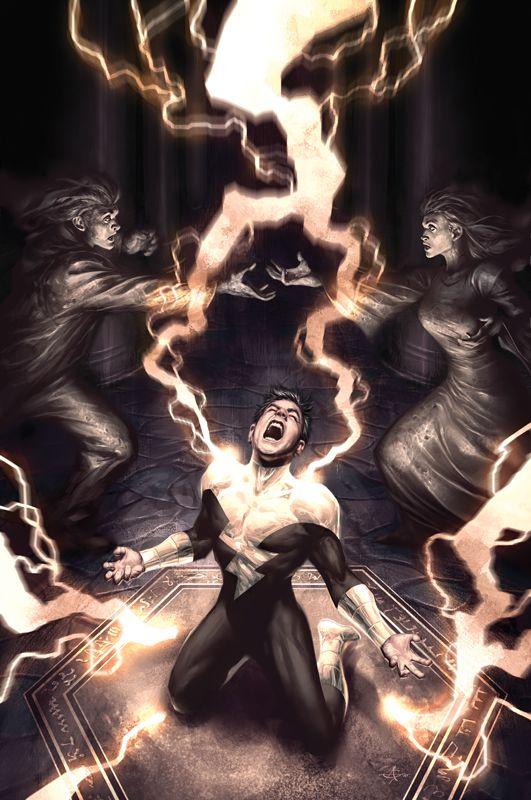 Osiris (Black Adam's Capt. Marvel Jr.) by Alex Garner #Shazam