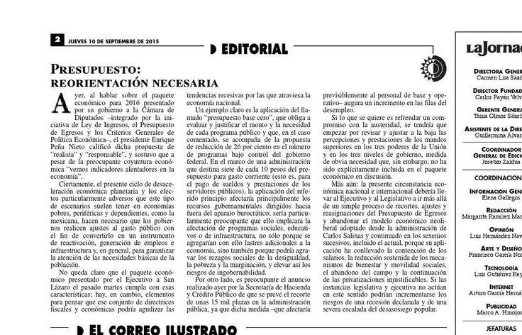 #ClippedOnIssuu from La Jornada, 09/10/2015