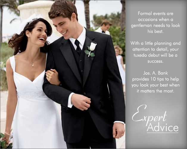 Click through for a few tuxedo style tips from our experts.