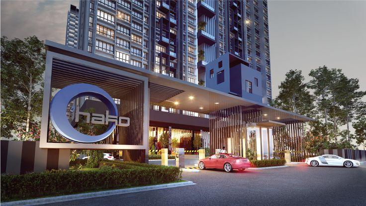 condominium entrance design - Google Search