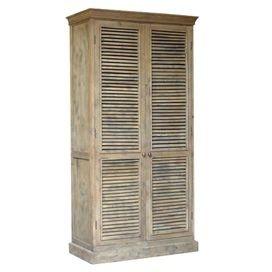 Rustic wardrobe storage