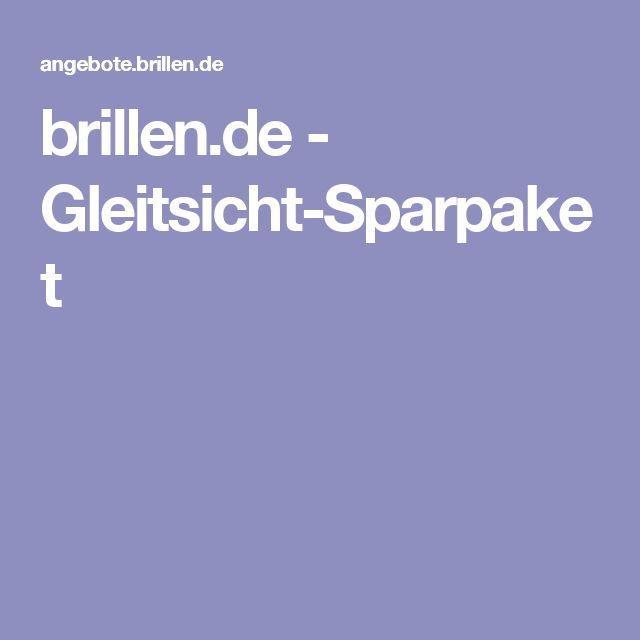 brillen.de - Gleitsicht-Sparpaket
