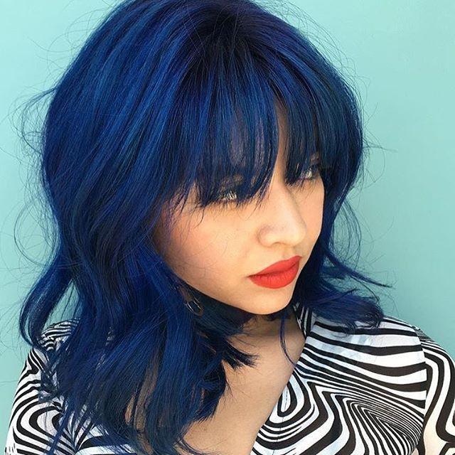 indigo hair ideas