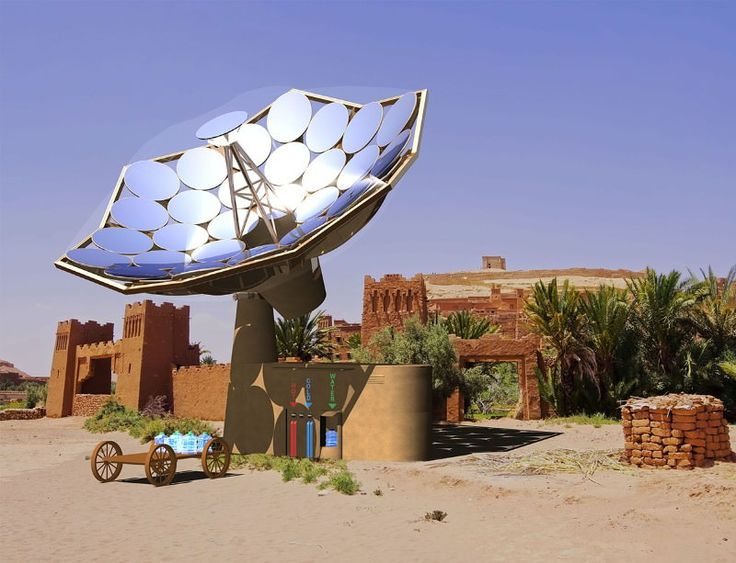 An all-in-one, cheap, solar energy harvester can deliver power, clean water and heat to places that need it, quickly