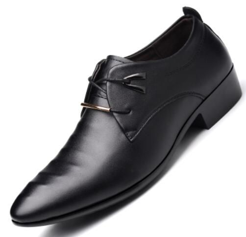 >> Click to Buy << 2017 men leather shoes oxford shoes men's dress wedding fashion leather shoes pointed toe zapatos vestir hombre chaussure homm #Affiliate