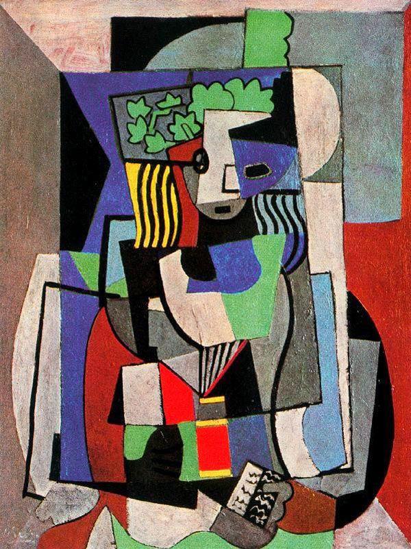Retrato de Jacquelines, by Pablo Picasso