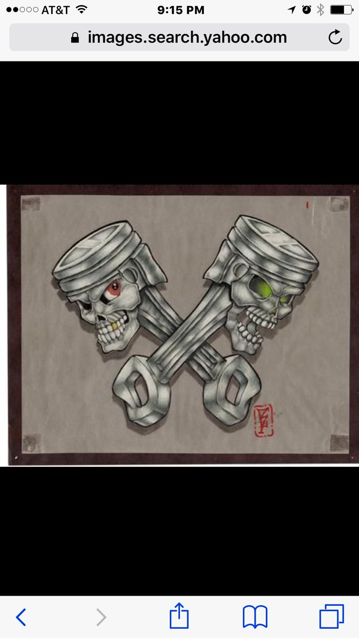 43 best realistic skull and pistons tattoo images on pinterest piston tattoo skulls and skull. Black Bedroom Furniture Sets. Home Design Ideas