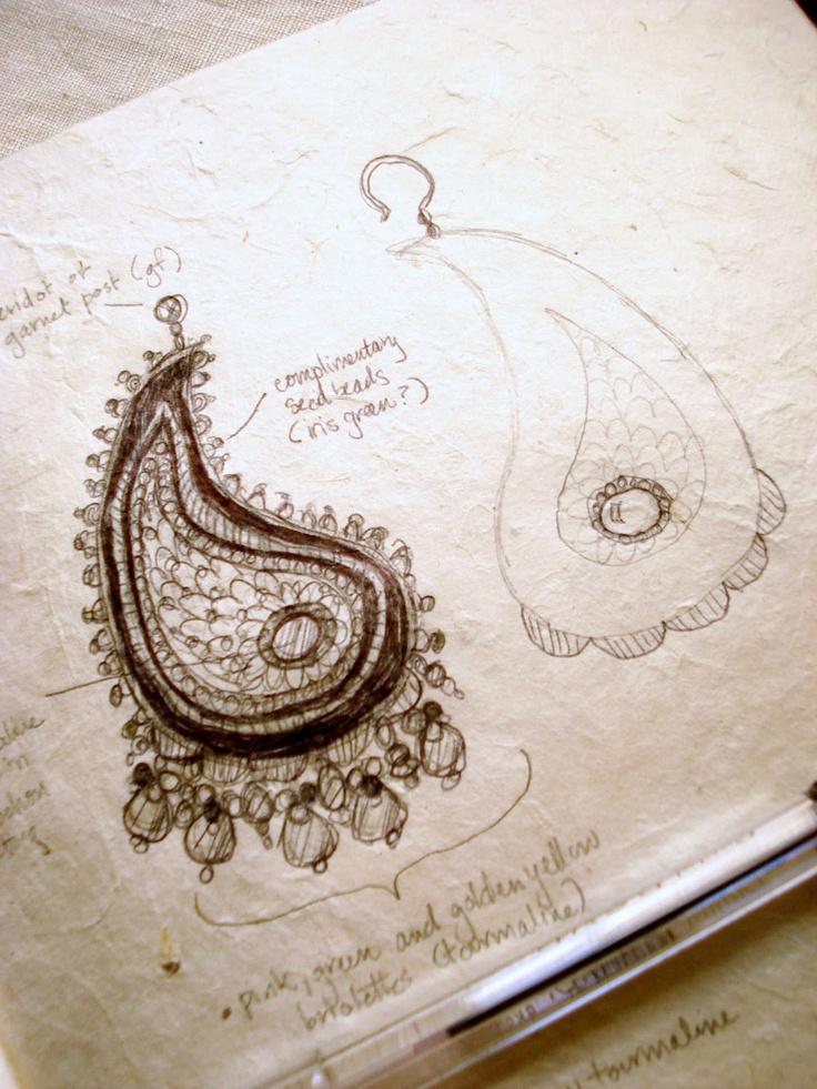 Edera Jewelry: Romantic Handmade Lace Designs: November 2009