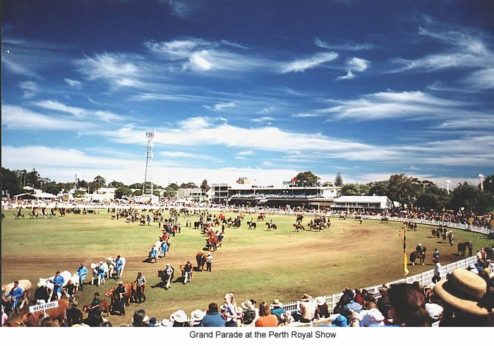Perth Western Australia in the 1970's - Perth Royal Show