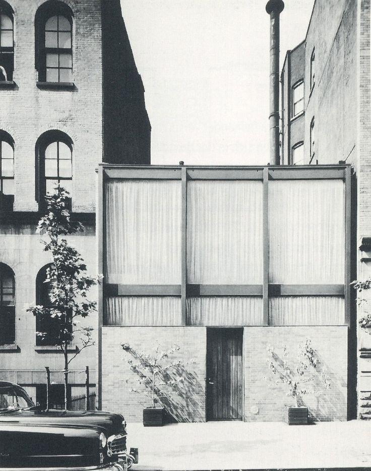Philip Johnson, Rockefeller Guest House, New York, (1949-1950)