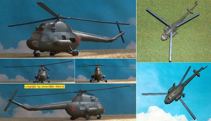 """Mil Mi-2 (NATO-Code: """"Hoplite"""") 1:72"""