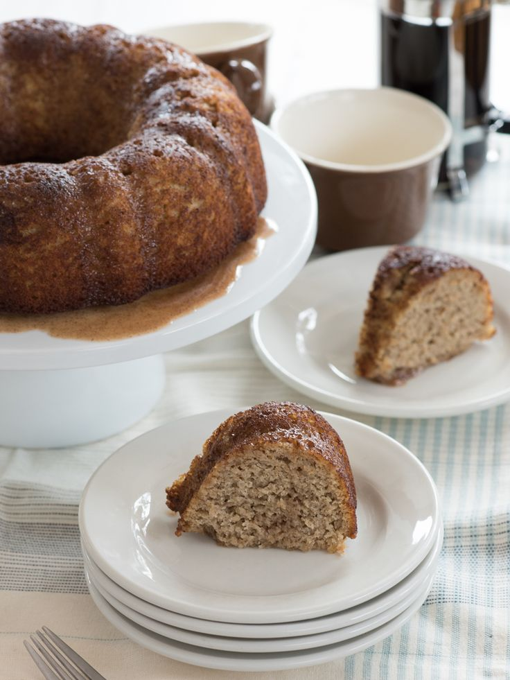 Cinnamon Butter Bundt Cake (THM - S) – sneak peek recipe from the new Trim Healthy Mama cookbook (out 9-5-17)