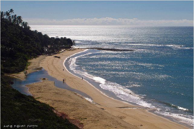 Praia de Pitinga em Arraial