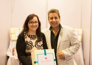 Sheila from Just Add You had the pleasure of meeting Franc at a recent wedding fair where we had a stand exhibiting our wedding stationery company.  http://www.justaddyou.ie/newsblog.php?bc=read&getnews=58