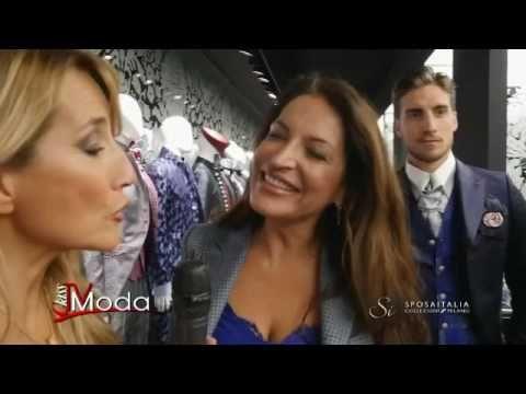 Jo Squillo intervista Stefania Vismara | Abiti da sposo | Cleofe Finati ...