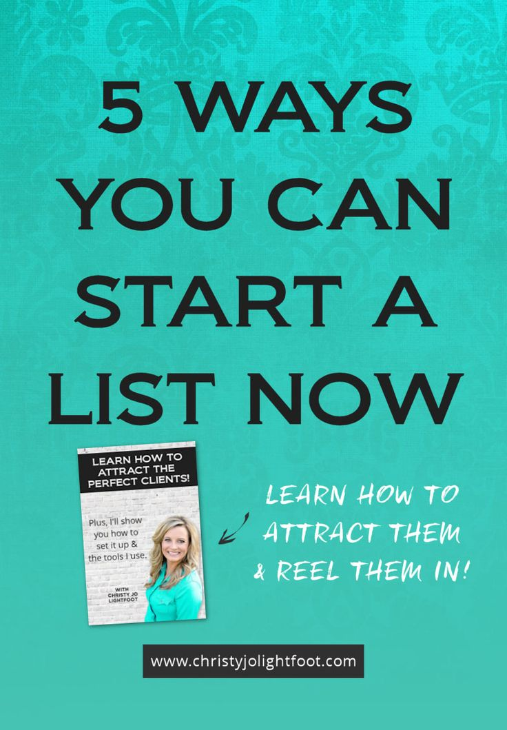 Five ways you can build an email list right now quickly and easily without spending hundreds or even thousands on Facebook ads.