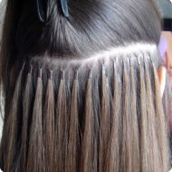 Micro ring (also known as micro bead) hair extensions are the quickest, most natural looking, pain-free and least damaging hair extensions available on the market today. No glue, heat, bond or chemicals are used! Suitable on all types of hair at least 4 inch in length, lasting up to 6 months with the correct after care and re-tightening regime.