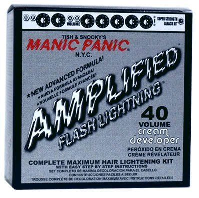 Manic Panic Amplified Flash Lightning Hair Bleach  //Price: $ & FREE Shipping //     #hair #curles #style #haircare #shampoo #makeup #elixir