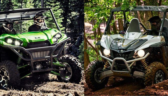 2017 Yamaha Wolverine R-Spec EPS vs. Kawasaki Teryx LE: By the Numbers - ATV.com How do these Sport-Utility Side-by-Sides compare on paper?