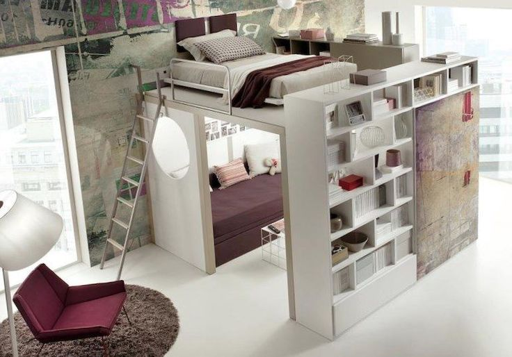Space saving bedroom furniture - https://bedroom-design-2017.info/designs/space-saving-bedroom-furniture.html. #bedroomdesign2017 #bedroom
