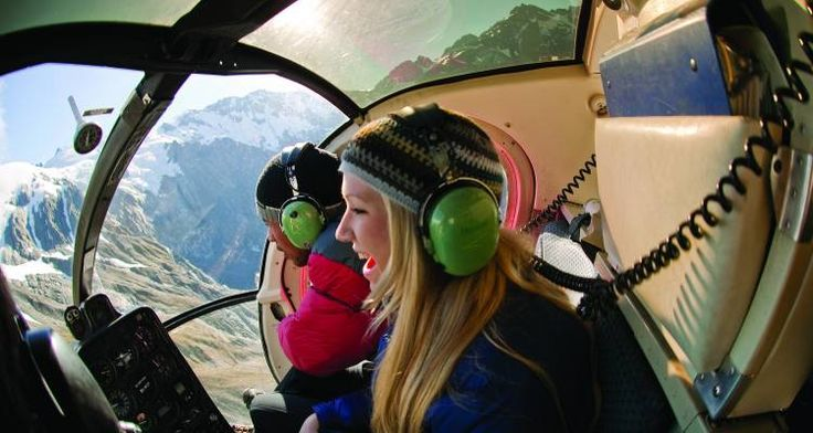 Your own private helicopter experience - New Zealand