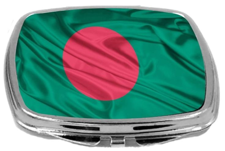 Rikki Knight Compact Mirror Bangladesh Flag #RikkiKnight