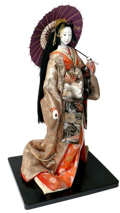 Japanese traditional Oiran doll, 1930's