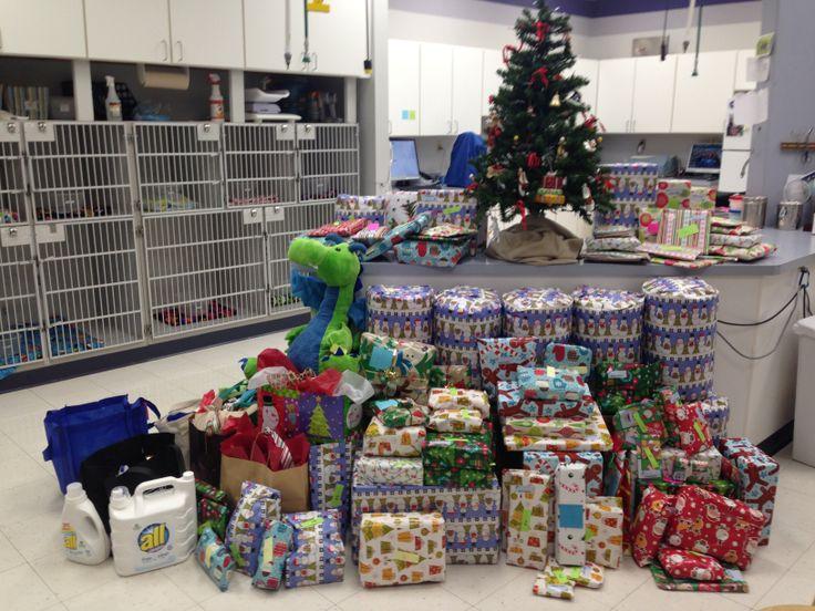 All done! #Animal Hospital #Veterinarian #Pets #Vet #KAH #FrederickMaryland #Christmas #GivingBack