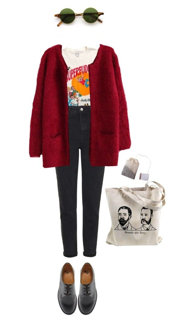 """katja"" by julietteisinthe80s on Polyvore featuring Topshop and Dr. Martens"