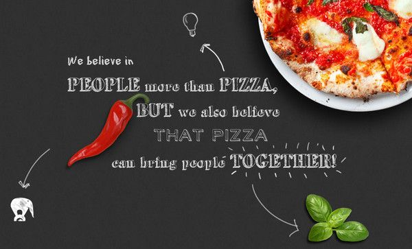modern food related website designs best examples