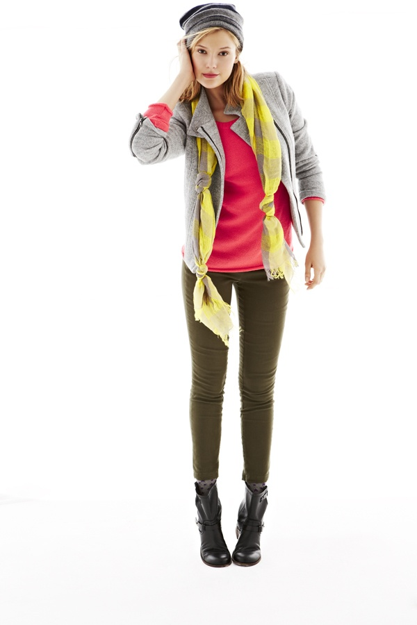 Tweed moto jacket #GapLove