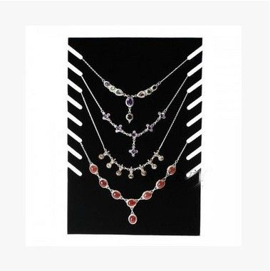 Hot Sale High-end Necklace Jewelry Plate Display Stand Shelf Showcase Pendant Holder Rack Stock