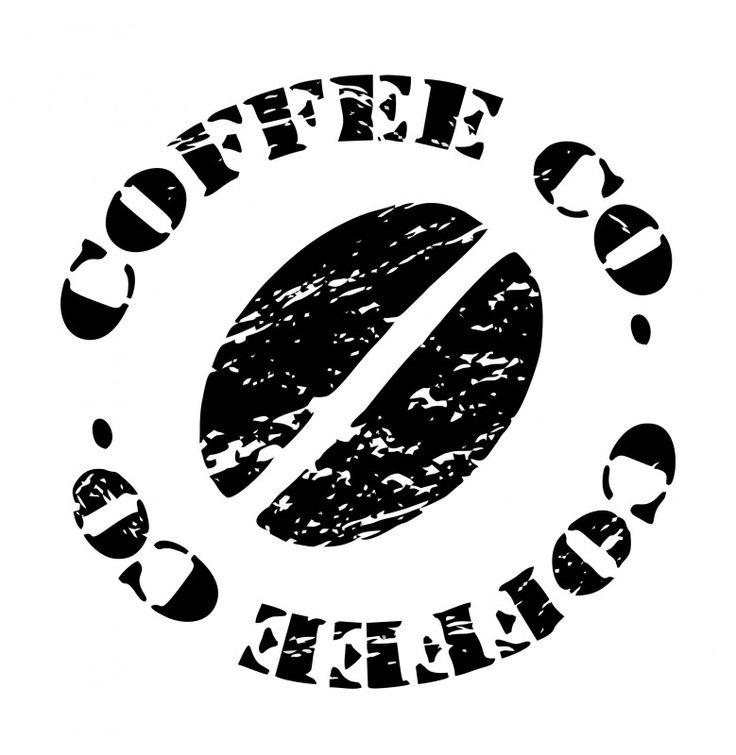 Muurtekst Koffie Stempel | MUURSTICKERS TEKSTEN | MUURSTICKERS