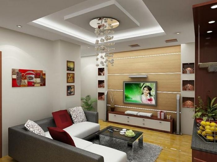 35-Dazzling-Catchy-Ceiling-Design-Ideas-2015-11 46 Dazzling & Catchy Ceiling…