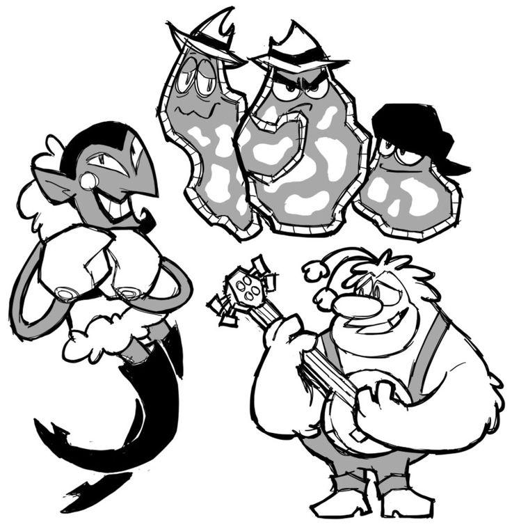 some powerpuff baddies by EdgyTriangle.deviantart.com on @DeviantArt