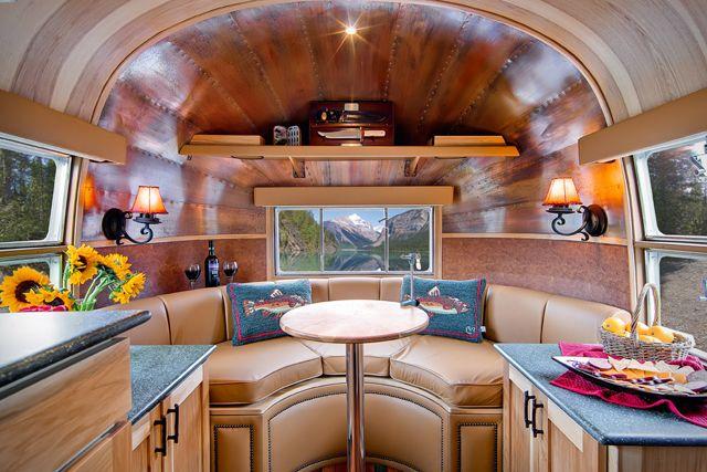 1954 Airstream Trailer - interior