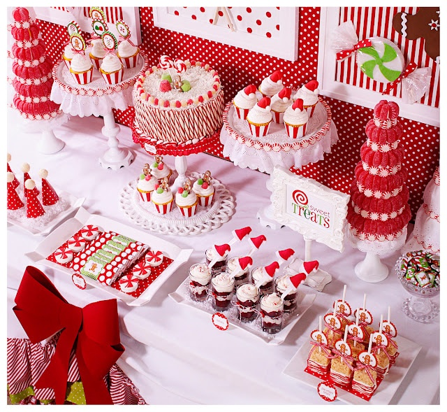 Work Christmas Party Food Ideas Part - 23: Christmas Candy U0026 Hot Cocoa Bar ~ Might Do This For Our Employee Christmas  Party!