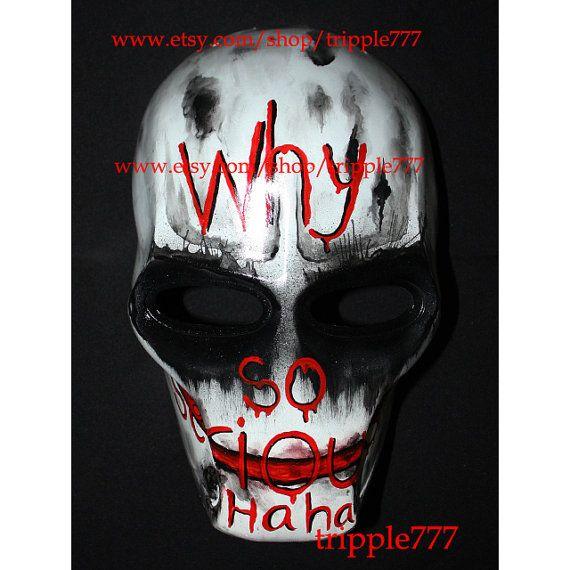 Army of two mask, Airsoft paintball mask, Halloween mask, Halloween costume & Cosplay mask, BB gun Goggle S2 Batman Joker mask MA163 et