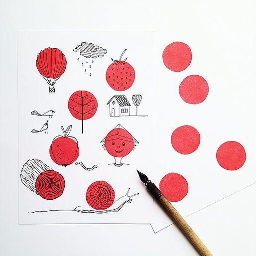 (Her)ontdek ambachtelijke grafische technieken bij Atelier Indrukwekkend!   Graag willen we graag onze kennis met je delen. We bieden verschillende grafische wo