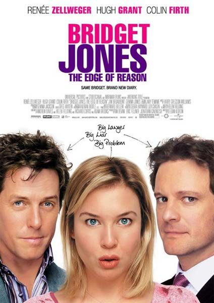 Bridget Jones The Edge of Reason: Rene Zellweger, Favorite Things, The Edge, Colin Firth, Book, Fave Film, Hugh Grant, Favorite Movie, Bridget Jones Diaries