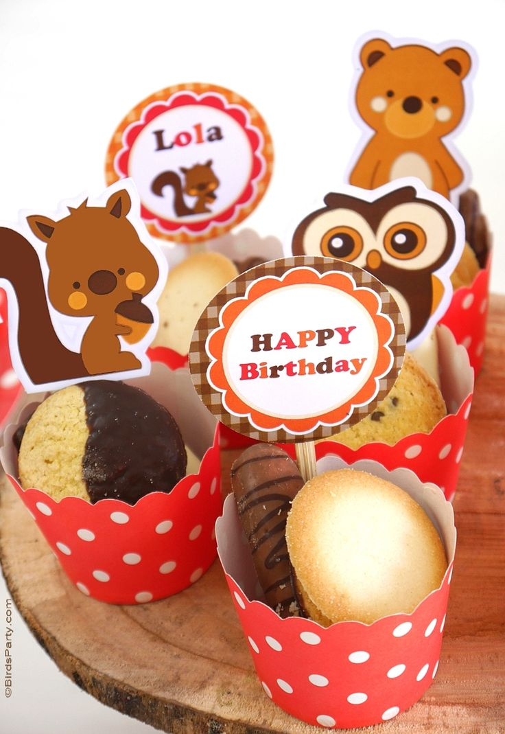 Woodland Birthday Party Ideas & Printables | BirdsParty.com