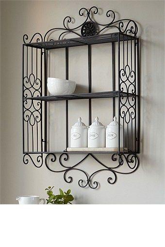 decorative wire wall shelves - Google Search   Home Decor ...