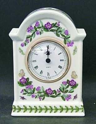 Portmeirion Botanic Garden Mantle Clock
