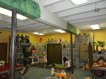 Fairy-Tale themed classroom-- can I turn this into a kids bedroom?? :)    Clutter-Free Classroom: Fairy Tale Themed Classrooms