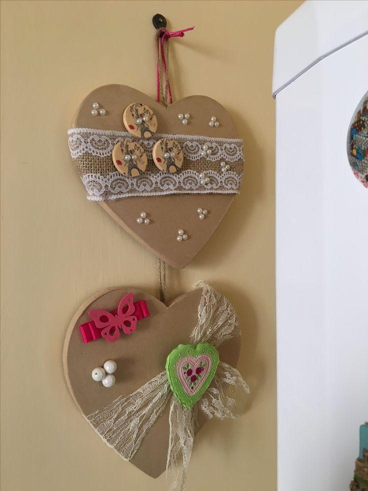 #cuori #fattoamano #handmade #shabby