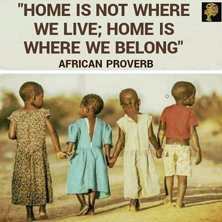 African proverb                                                       …