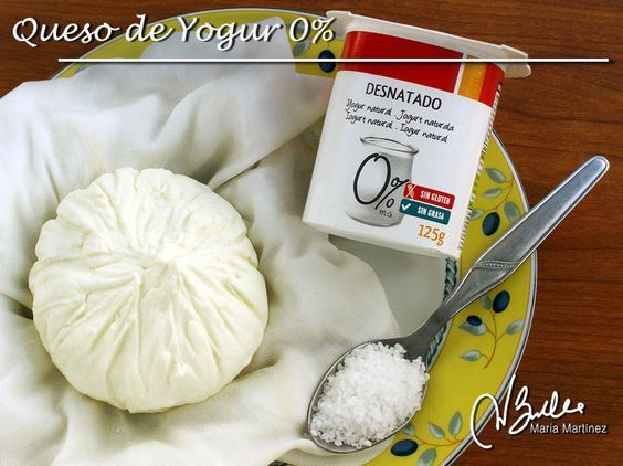 Queso de Yogur 0%: Recetas Dukan
