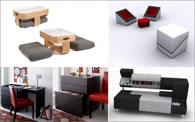 Decofilia blog mueble multifuncional para espacios Mobiliario para espacios reducidos