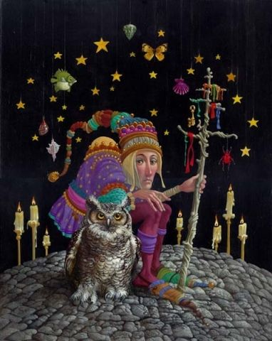James Christensen Original | Hidden Ridge Gallery - James Christensen - Original Paintings
