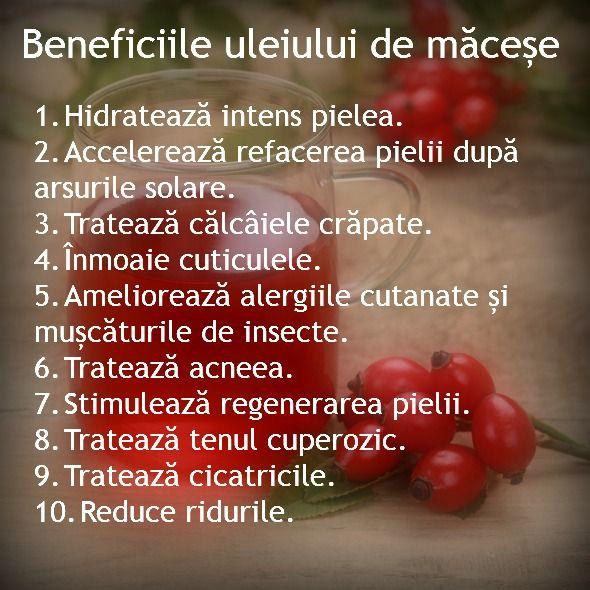 Scapa de estetician: Extraordinarele beneficii ale uleiului de MACESE